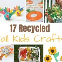 17 Recycled Fall Kids Crafts