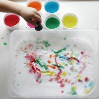 Salt Painting Tray