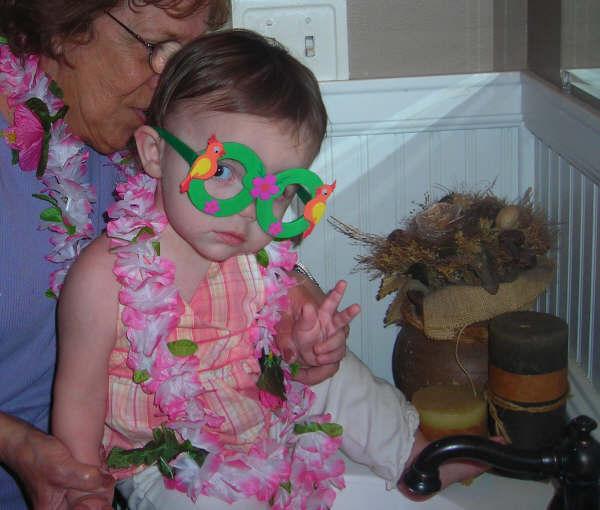 Mia birthday glasses