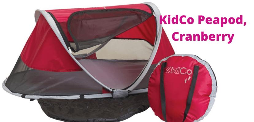KidCo Peapod, Cranberry