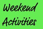 Weekend Activities – April 20-22
