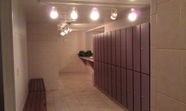 Heartland Spa - locker room - Toddling Around Chicagoland