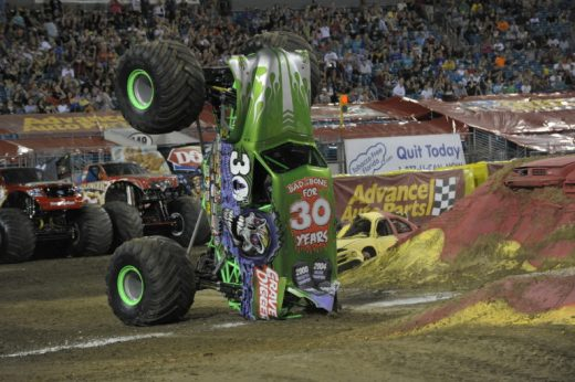 Monster Jam - Grave Digger - Toddling Around Chicagoland