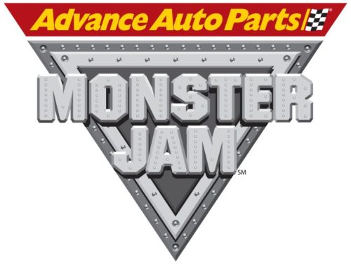 Advance Auto Parts Monster Jam logo