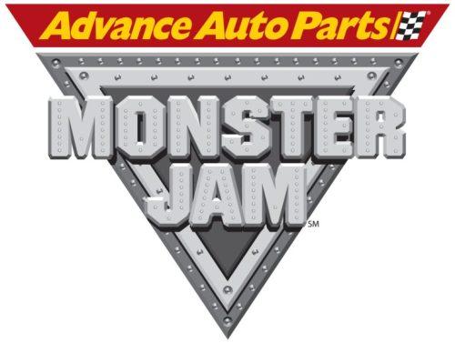 Advance Auto Parts Monster Jam logo