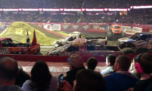 Monster Jam - trucks 2 - Toddling Around Chicagoland