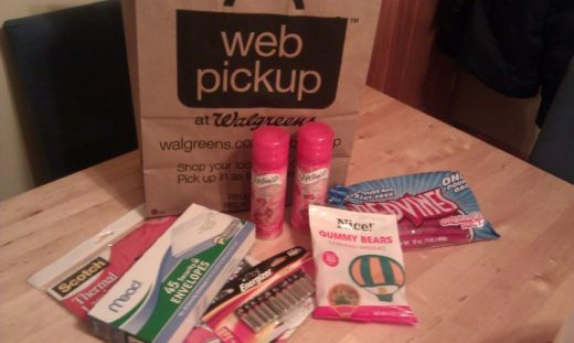 Walgreens Web Pickup - 2nd order - Toddling Around Chicagoland