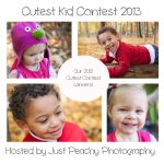 Just Peachy Photography Cutest Kid Contest 2013