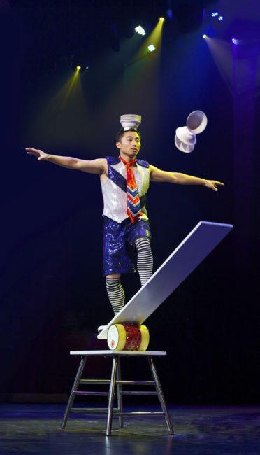 Cirque Shanghai Comedy Bowl Kicker