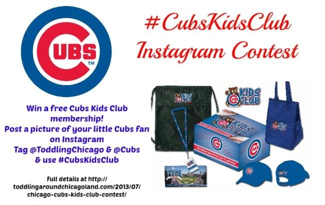 #CubsKidsClub Instagram Contest