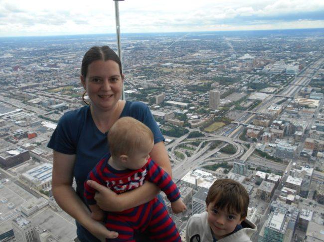 Skydeck Chicago - Toddling Around Chicagoland