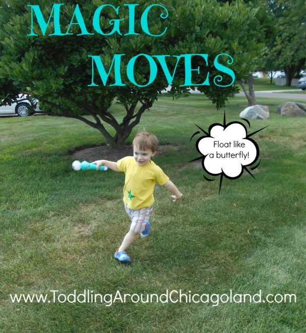 Magic Moves - Toddling Around Chicagoland