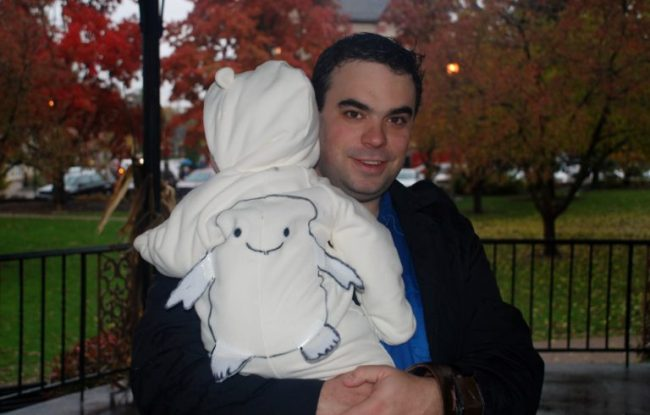 Halloween, Doctor Who Style- Adipose - Toddling Around Chicagoland