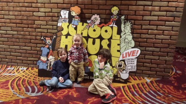 Schoolhouse Rock Live - Toddling Around Chicagoland