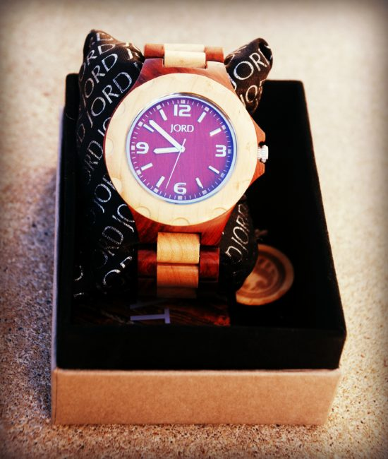 Jord wooden watch review - Toddling Around Chicagoland