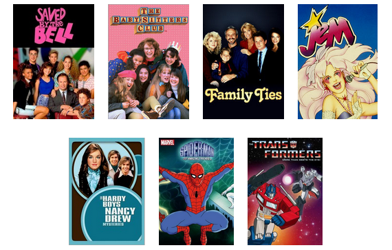 Netflix Goes Retro #TBT {with Giveaway!} - Toddling Around