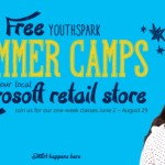 Free YouthSpark Summer Camps at Microsoft Retail Stores