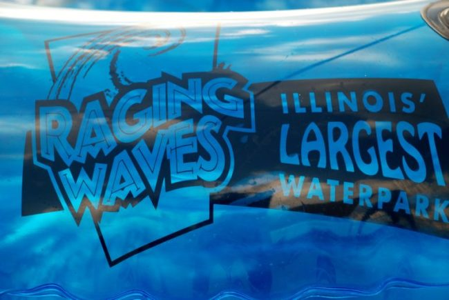 Raging Waves - Toddling Around Chicagoland #Welcometosummer