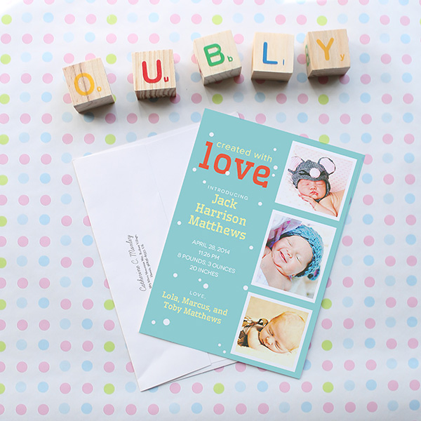 Oubly Baby Shower Invitation Giveaway - Toddling Around Chicagoland #sponsored