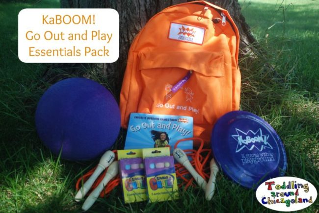 KaBOOM! Go Out and Play Essentials Park Review - Imagine Toys - Todlling Around Chicagoland #ad