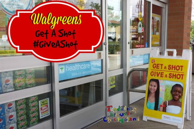 Walgreens Get A Shot, #GiveAShot - Toddling Around Chicagoland #GiveAShot #shop #CBias