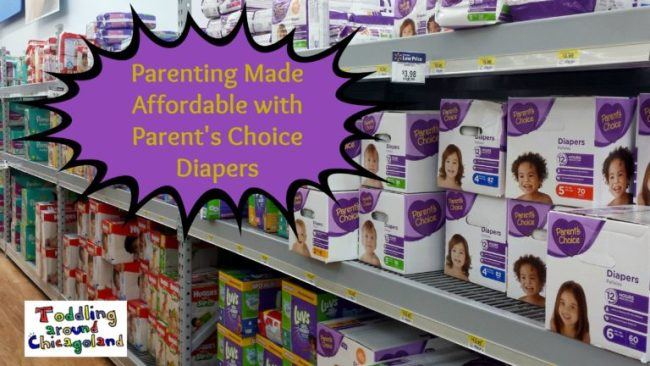 Parenting Made Affordable with Parent's Choice Diapers - Toddling Around Chicagoland - header #shop #CollectiveBias #BabyDiapersSavings