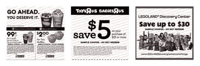 KidStuff Coupon Books - coupons