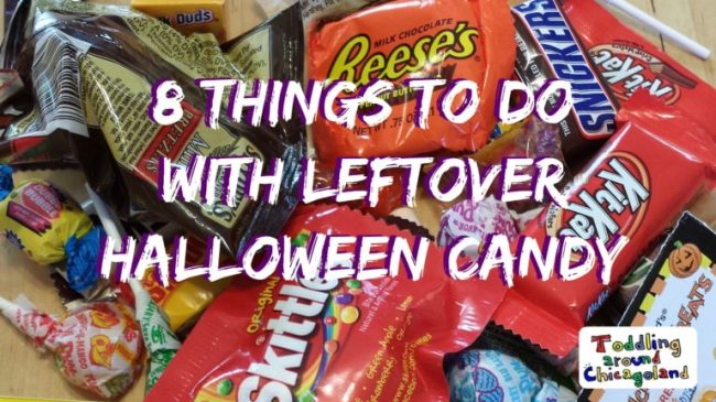 8 Things to do with Leftover Halloween Candy 2014