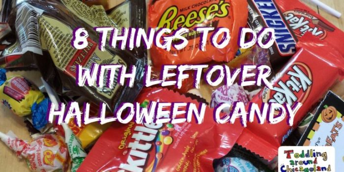 8 Things to do with Leftover Halloween Candy