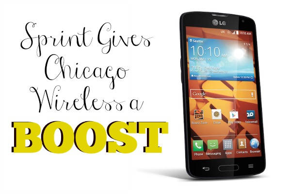 Sprint Gives Chicago Wireless a Boost - #Sponsored #MC #SprintMom #BoostMom