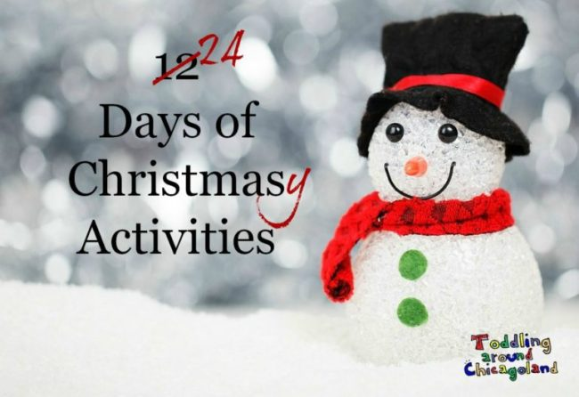 24 Days of Christmasy Activities