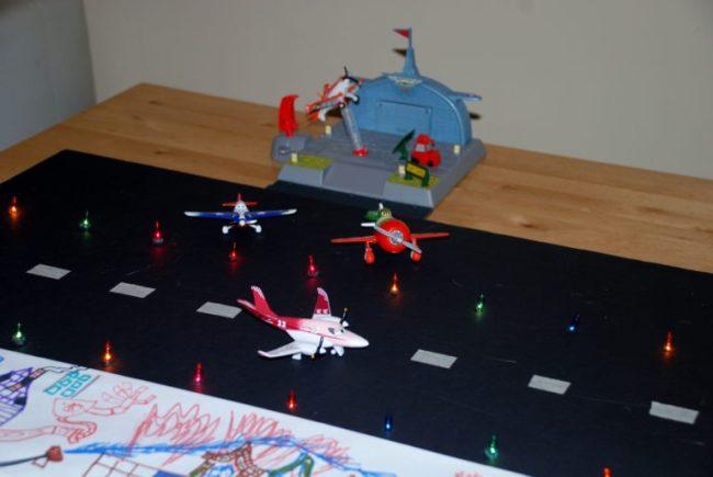 Disney Planes to the Rescue - Tutorial for a DIY Runway #PlanesToTheRescue #CBias #shop