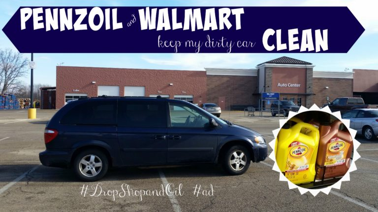 pennzoil and walmart keep my dirty car clean it s been winter for at least 20 months now or at least that s what it feels like and my car is perpetually dirty it s covered in dirt and salt and is