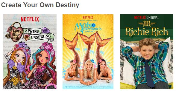 Netflix - Create Your Own Destiny #StreamTeam