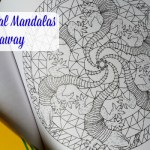 Coloring Animal Mandalas Review and Giveaway