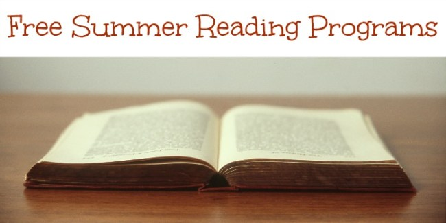 Free Summer Reading Programs 2015