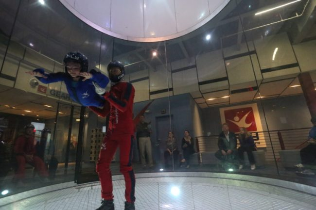Cooper at iFLY