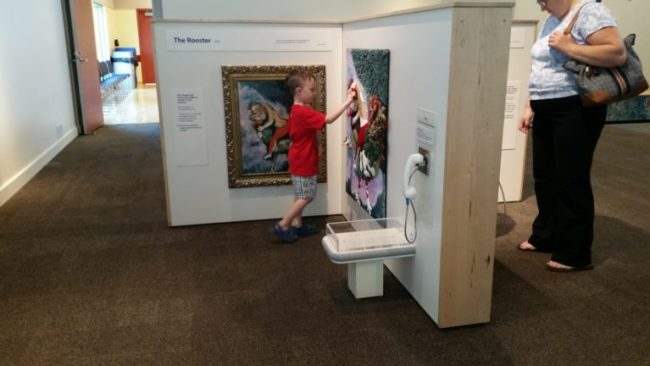 Chagall for Children at the Kohl Children's Museum -  Dexter