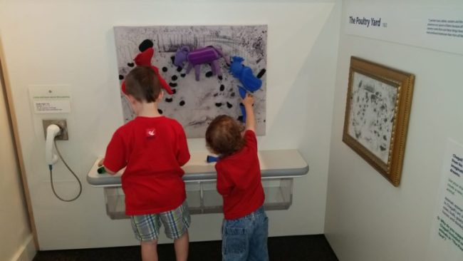 Chagall for Children at the Kohl Children's Museum - The Poultry Yard