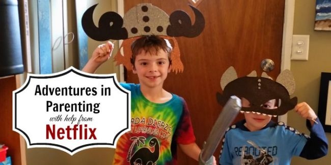 Adventures in Parenting with Help from Netflix #StreamTeam [sponsored] #Dragons