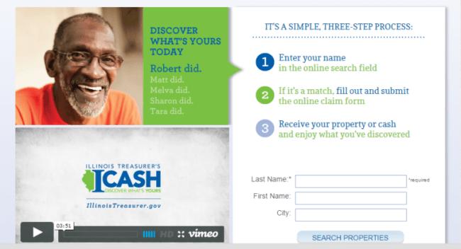 I-Cash homepage