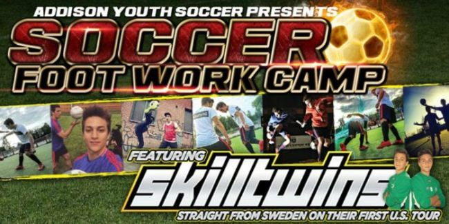 SkillTwins Soccer Camp