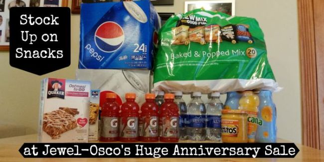 Stock Up on Snacks at Jewel-Osco's Huge Anniversary Sale #ad #AHugeSale #cbias