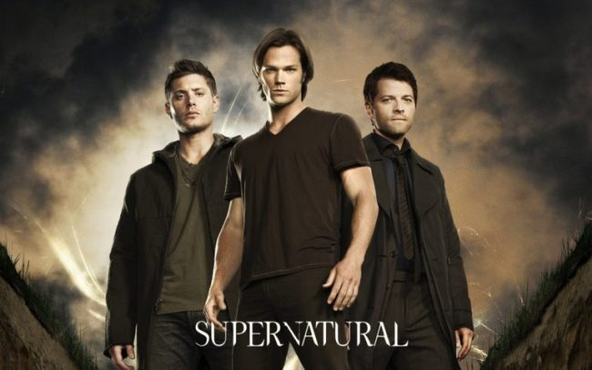 Dust Off Your Shelfies - Netflix #StreamTeam #ad Supernatural