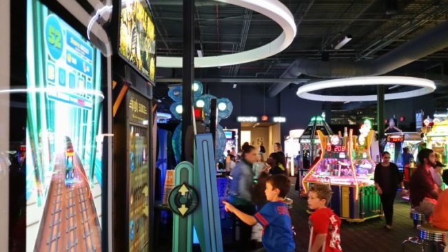 Westfield Hawthorn & Dave & Buster's: Getting Things Done & Having Fun #ad