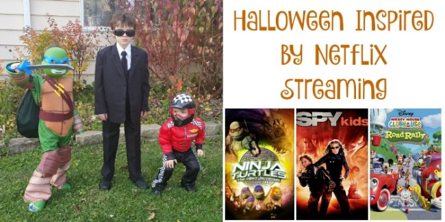 Halloween Inspired by Netflix Streaming #StreamTeam [ad] #Halloween