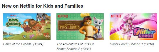 Netflix #StreamTeam December 2015 New to Netflix [ad]