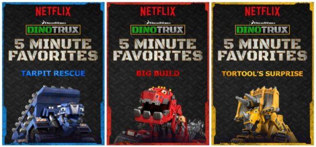 Netflix #StreamTeam #Dinotrux 5 Minute Favorites [ad]