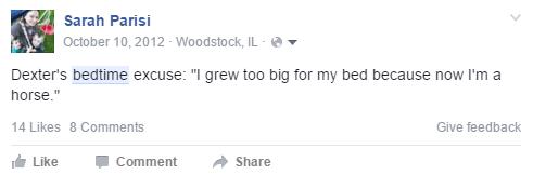 StreamTeam bedtime FB post 2012