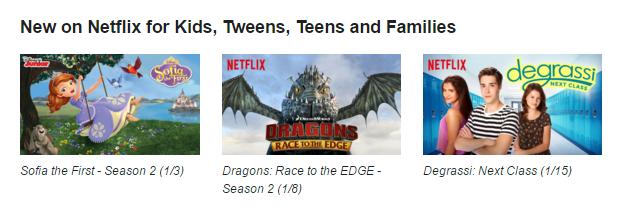 New on Netflix #StreamTeam Jan 2016